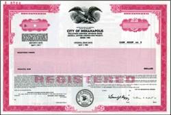 City of Indianapolis - Municipal Revenue Bond