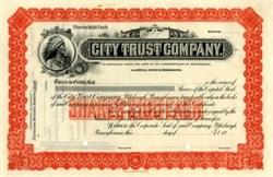 City Trust Company - Pittsburgh, Pennsylvania 1900