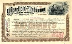 Clearfield and Mahoning Railway Company  - Pennsylvania 1893