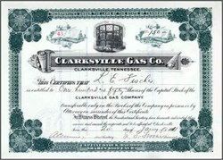 Clarksville Gas Co. 1911 - Tennessee