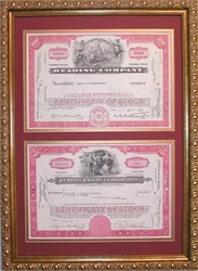 Classic Frame - Two Certificates