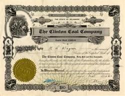 Clinton Coal Company - Kentucky 1922
