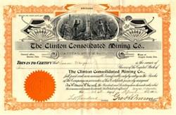 Clinton Consolidated Mining Company - Cripple Creek, Colorado -  1902