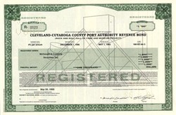 Rock and Roll Hall of Fame Revenue Bond - Cleveland, Ohio 1993