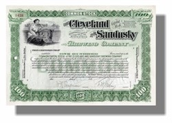 Cleveland and Sandusky Brewing Company 1890's