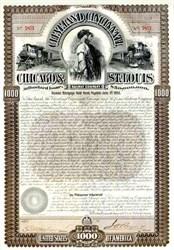 Cleveland, Cincinnati, Chicago Railway Company - Reaper Sisters Vignette - 1893
