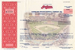 Cleveland Indians Baseball Company, Inc (Richard Jacobs as Chairman of the Board and CEO) - 1998