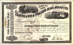 Cleveland & Toledo Rail-Road Company 1862