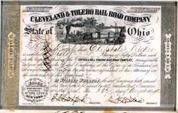 Cleveland & Toledo Rail Road Company 1854