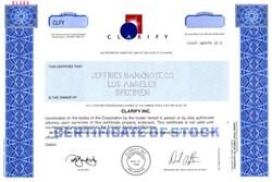 Clarify, Inc. - Delaware