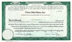 Clover Mini-Marts, Inc. - Florida 1983