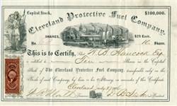 Cleveland Protective Fuel Company - Ohio 1866