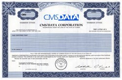 CMS/DATA Corporation,  Florida