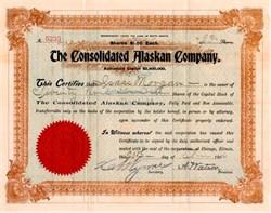Consolidated Alaskan Company - Alaska 1906
