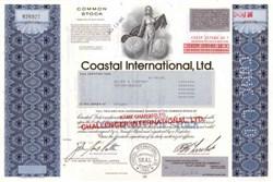 Coastal International, Ltd. ( Now Intelect Communications )