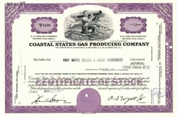 Coastal States Gas Producing Company ( Now El Paso Energy Corporation )