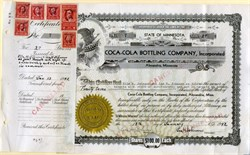 Coca-Cola Bottling Company, Incorporated - Minnesota 1942