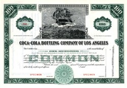 Coca-Cola Bottling Company of Los Angeles - California