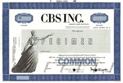 Columbia Broadcasting System, Inc. (CBS) - New York
