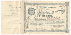 Commercial Cable Company (Mackay Bennett Transatlantic Cable System)- New York 1897