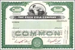 Coca - Cola Company Specimen