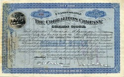 Corralitos Company (Issued to and signed twice by  Edward Shearson of Shearson/Lehman )  - Colorado 1922