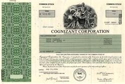 Cognizant Corporation - Delaware 1996