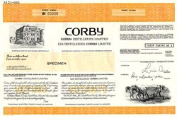 Corby Distilleries Limited - Canada