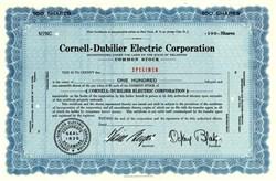 Cornell-Dubilier Electric Corporation - Delaware