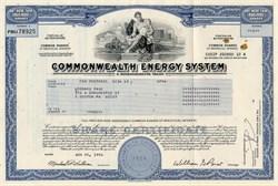Commonwealth Energy System (Now NSTAR) - Massachusetts 1996