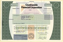 Countrywide Financial Corporation (Major Scandal acquired by Bank of America )- Delaware