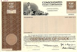 Consolidated Foods Corporation (Now Sara Lee Corporation )  - Maryland