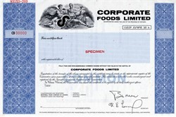 Corporate Foods Limited (Now Canada Bread Company Limited) - Ontario, Canada