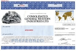 Consolidated General Western Industries Ltd. - British Columbia