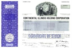 Continental Illinois Corporation - Largest U.S. Bank Failure in the 20th Century