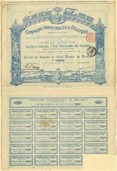 Compagnie Industrielle de Belgique-1898