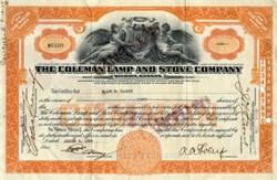 Coleman Lamp and Stove Company - Wichita, Kansas 1929