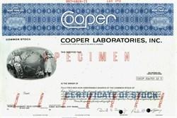 Cooper Laboratories, Inc. - 1971