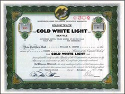 Cold White Light 1933 - Seattle ( Kold Wite Lite )
