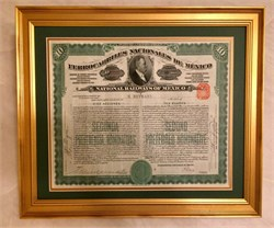 "Classic Frame - One Certificate (Frame Size 14 1/4"" x 18 1/4"")"