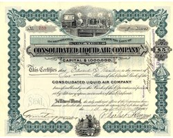 Consolidated Liquid Air Company - New York 1903
