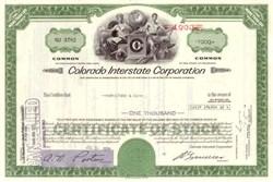 Colorado Interstate (Gas) Corporation