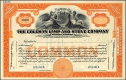 Coleman Lamp and Stove Company - Specimen