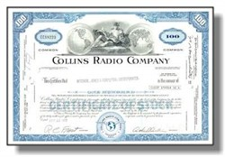 Collins Radio - Early Ham Radio Manufacturer