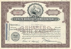 Colt's Manufacturing Company - Famous Firearm Company