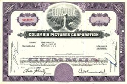 "Columbia Motion Pictures - Now Sony Pictures: Producers of the movie  ""The Interview"" - 1965"