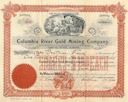 Columbia River Gold Mining Company 1899 - 1907