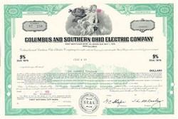 Columbus & Southern Ohio Electric Bond