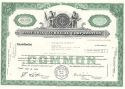 Columbia Technical CTC Stock Certificate