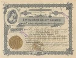 Columbia Theatre Company 1908